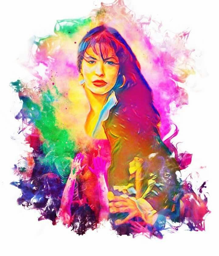 Colorful Selena