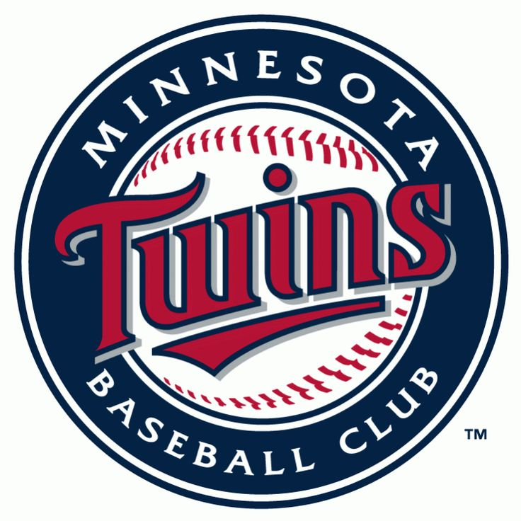 """The line underneath the team's name highlights the letters WIN. Twins Win. They probably stopped there because ""except in October"" didn't fit."""