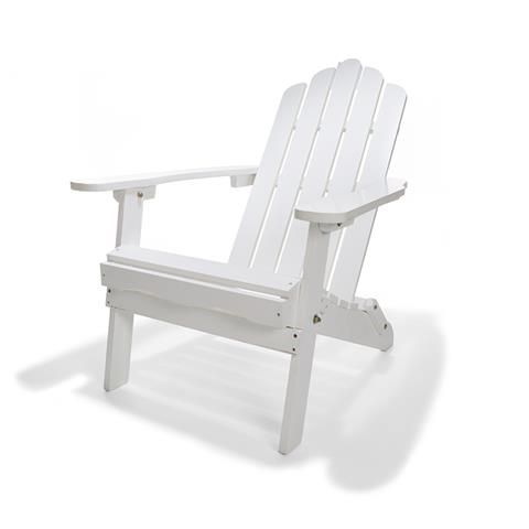 Foldable Adirondack Chair - White | Kmart