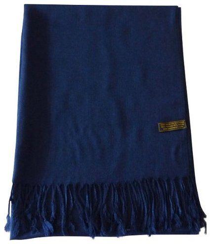 Navy Blue Solid Color Shawl Pashmina Scarf Wrap Shawls Pashminas NEW
