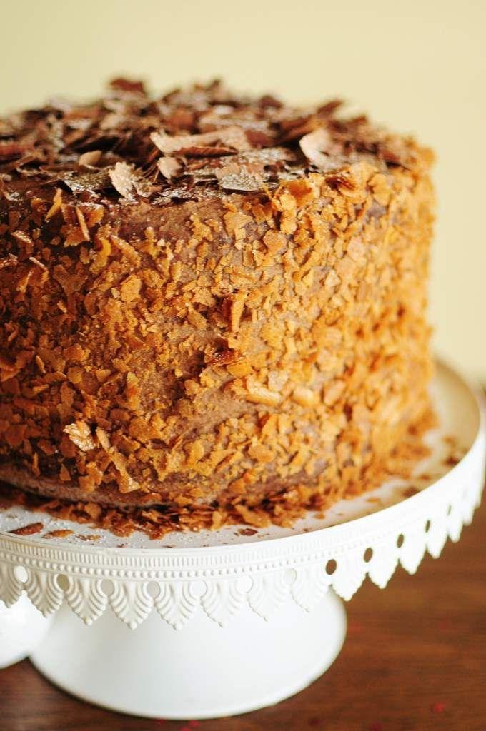 Layer cake à la mousse au chocolat de Rachel Allen - La popotte de Manue