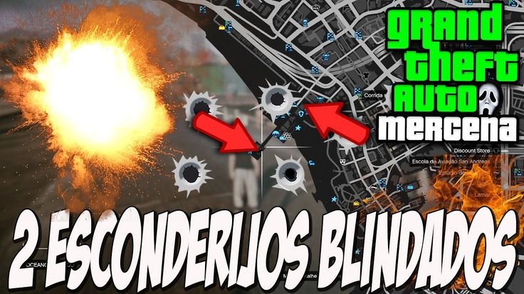 GTA V - 2 NOVOS ESCONDERIJOS BLINDADOS!!! GTA 5 ONLINE BUG E GLITCH