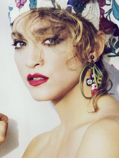 Madonna By Herb Ritts, 1984..I LOVE this picture!