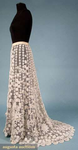 Irish Crochet Lace Skirt