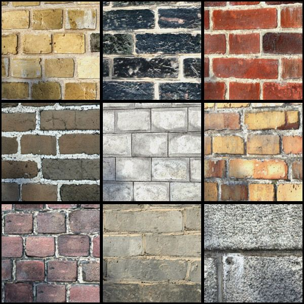 Aged Walls is a set of 24 highly detailed old brick multitextures for architectural visualization, with bump, displacement, reflection and diffuse layers.
