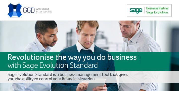 Revolutionise the way you do business!! With SAGE !