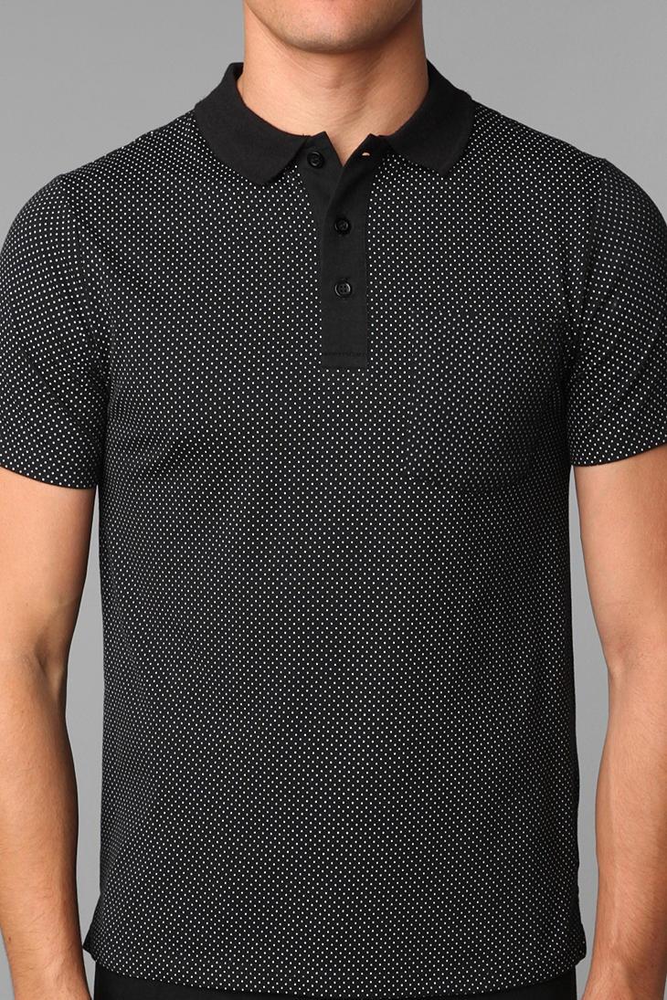 Brooklyn Cloth Polka Dot Polo Shirt Online Only