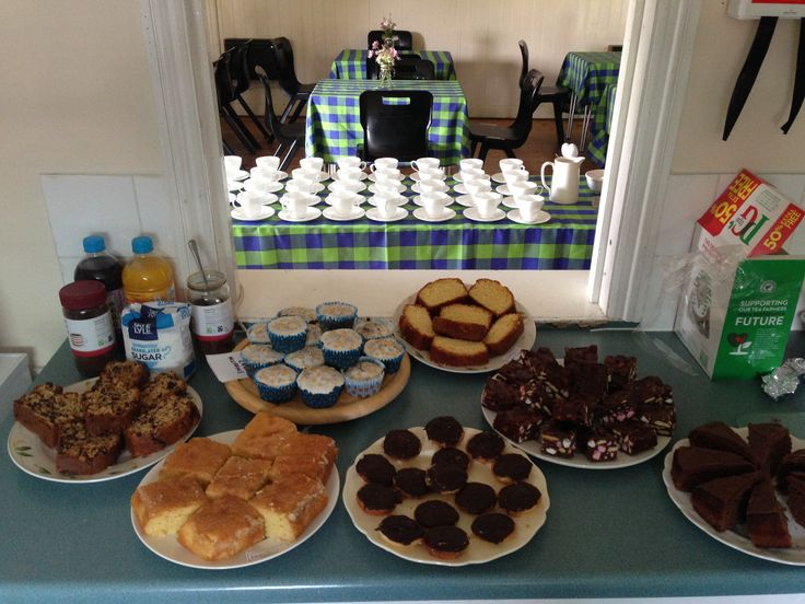 St Georges Institute ready to serve tea and cake at the annual August bank holiday fete 2016.
