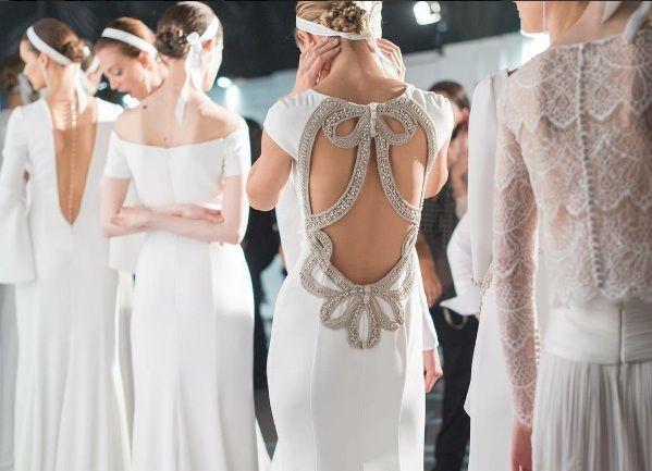 El estilo del vestido de novia de Antonella Roccuzzo, la novia de Messi