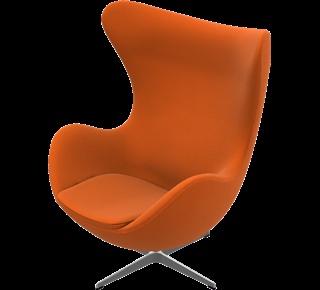 the egg chair. arne jacobsen. 1958
