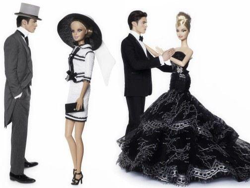 Карл Лагерфельд создал несколько нарядов для Барби
