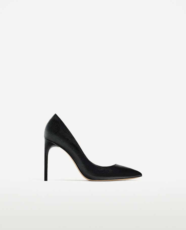 BLACK METALLIC COURT SHOES-NEW IN-WOMAN-COLLECTION AW/17 | ZARA Canada