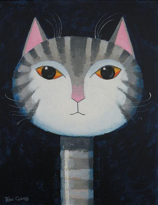 Cats » Toni Goffe Artist
