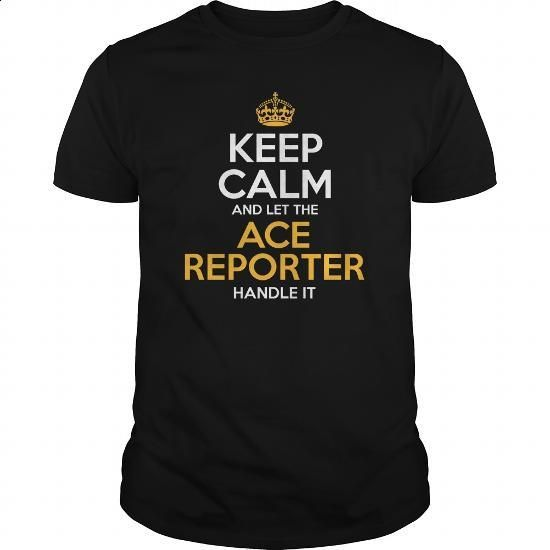 Awesome Tee For Ace Reporter - tshirt printing #women #girls