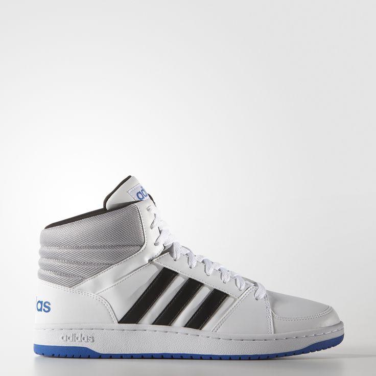 Баскетбольный стиль для современного города. Мужские кроссовки с голенищем средней высоты, которые подойдут для повседневной носки. Украшены графическими элементами adidas на язычке и вставке на пятке.