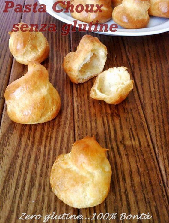 Pasta choux senza glutine | zero glutine...100% Bontà