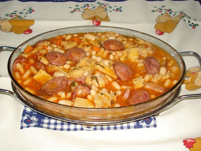 Receitas práticas de culinária: Dobrada com feijão branco