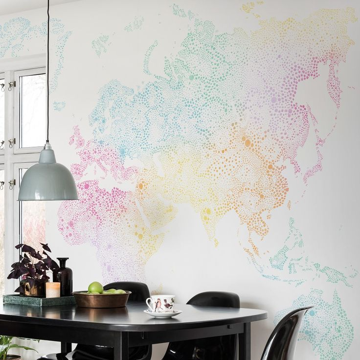 37 best sandberg wallpapers images on pinterest wall papers buy online sandberg world map wallpaper a digitally printed colourful mural of a world map from the familj collection gumiabroncs Gallery