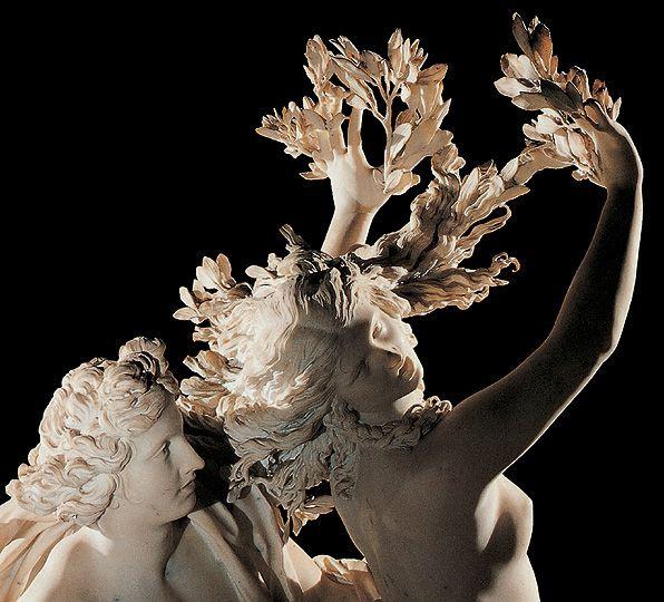 Très Gian Lorenzo Bernini Apollo e Daphne from Ovid's Metamorphoses  CM02