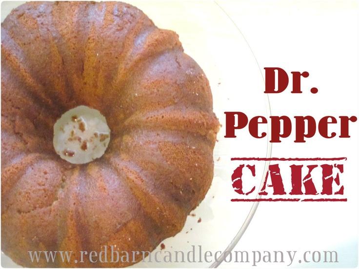 Dr Pepper Bundt Cake Recipe