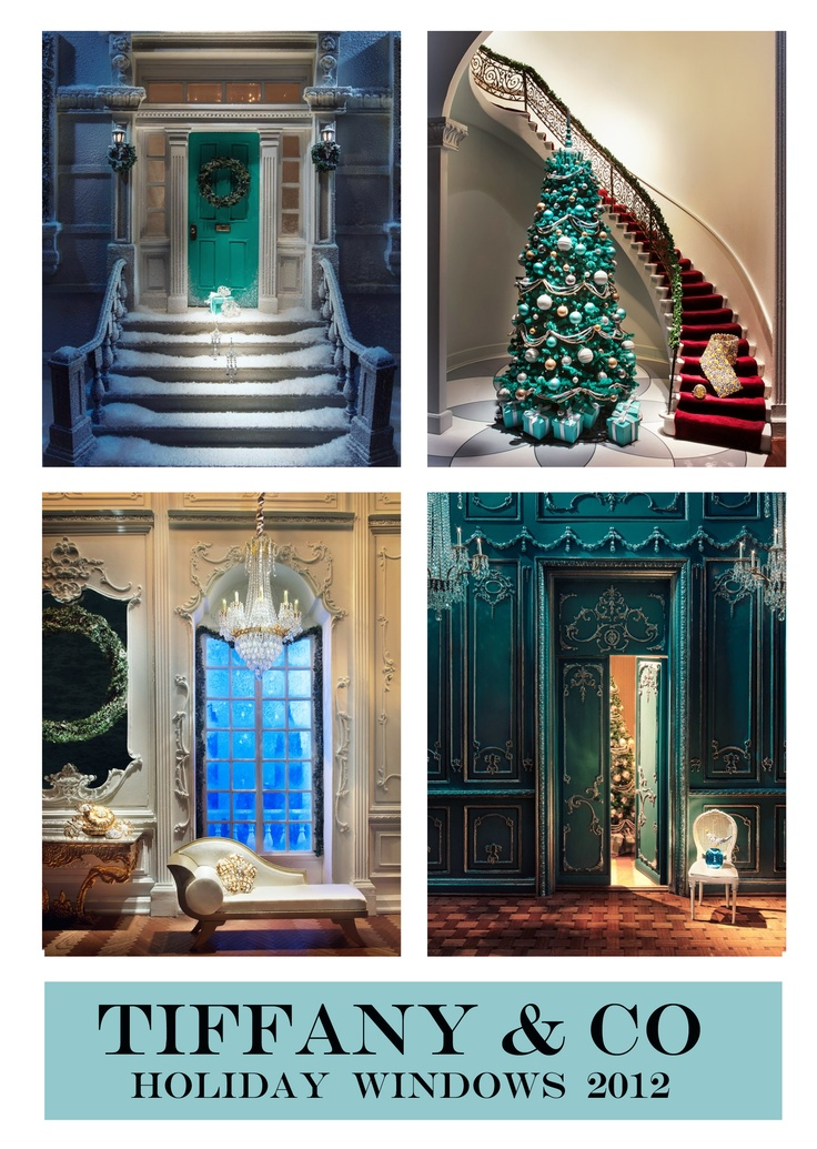 """""""Tiffany & Co Holiday windows 2012. Miniature scene with Tiffany Jewelry.""""  Saw these on display in Chicago last year!"""