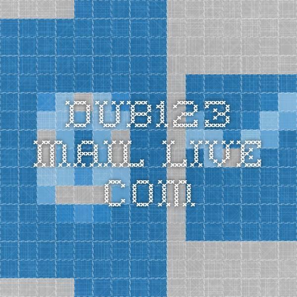 dub123.mail.live.com