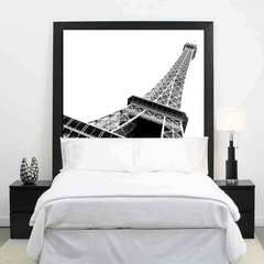 Art Headboard-this site has some super ideas for nontraditional headboards.  Love them all!