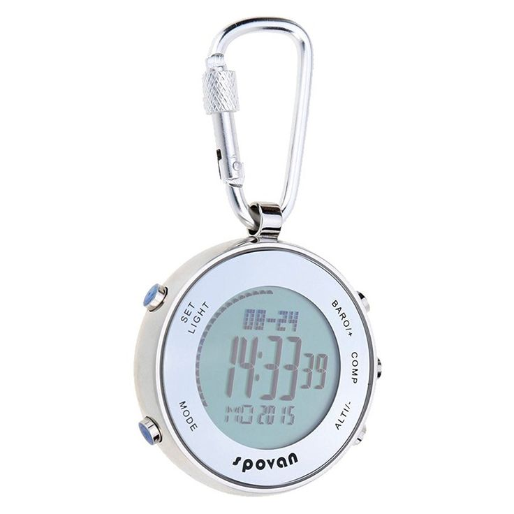 42.46$  Watch here - http://aliz14.shopchina.info/1/go.php?t=32810599710 - SPOVAN Outdoor Sports Multifunctional Digital Pocket Watch with Carabiner Hook & Elastic Rope  #magazine