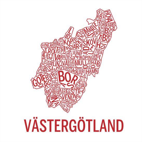 Västergötland röd