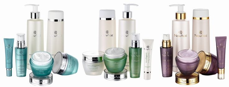 NovAge ihonhoito-setit vasemmalta: True Perfection, Ecollagen, Ultimate Lift #NovAge #Oriflame #skincare #ihonhoito