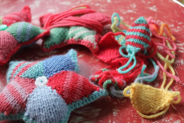 little woollie: Crafty Christmas Star(t)s.....