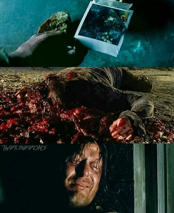 The Walking Dead Season 7 Episode 3 'The Cell' Daryl Dixon