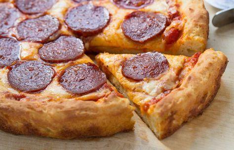 Gluten-Free Pizza Crust: 3 Ways via @kingarthurflour