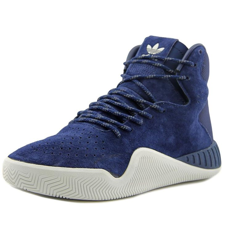 Adidas Tubular Instinct Youth US 6.5 Blue Tennis Shoe. sku=s76172-6.5.