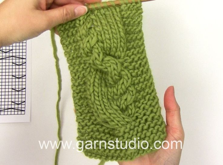 DROPS Knitting Tutorial: How to work after chart M.1 in DROPS 117-41