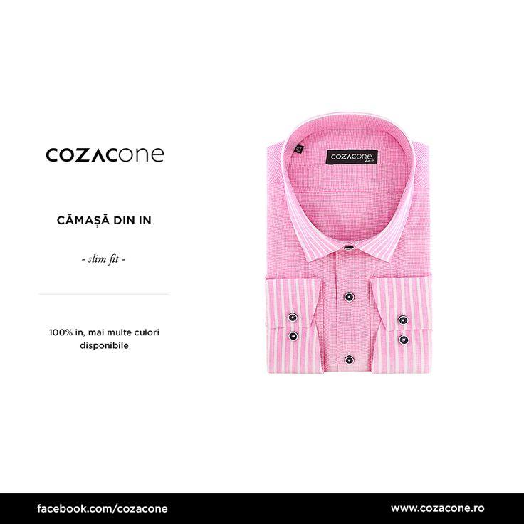 Roz, albastră sau galbenă - tu pe care cămașă de in ai lua-o acasă? http://www.cozacone.ro/produse/detalii/camasa-din-in/