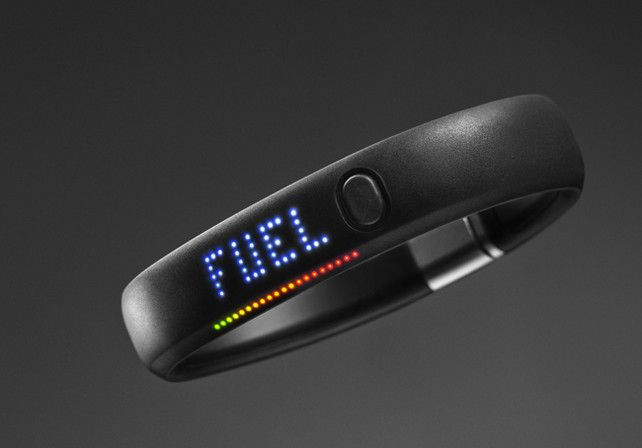 Nike's Fuelband aims to track your moves throughout the day, encouraging you to stay more active.