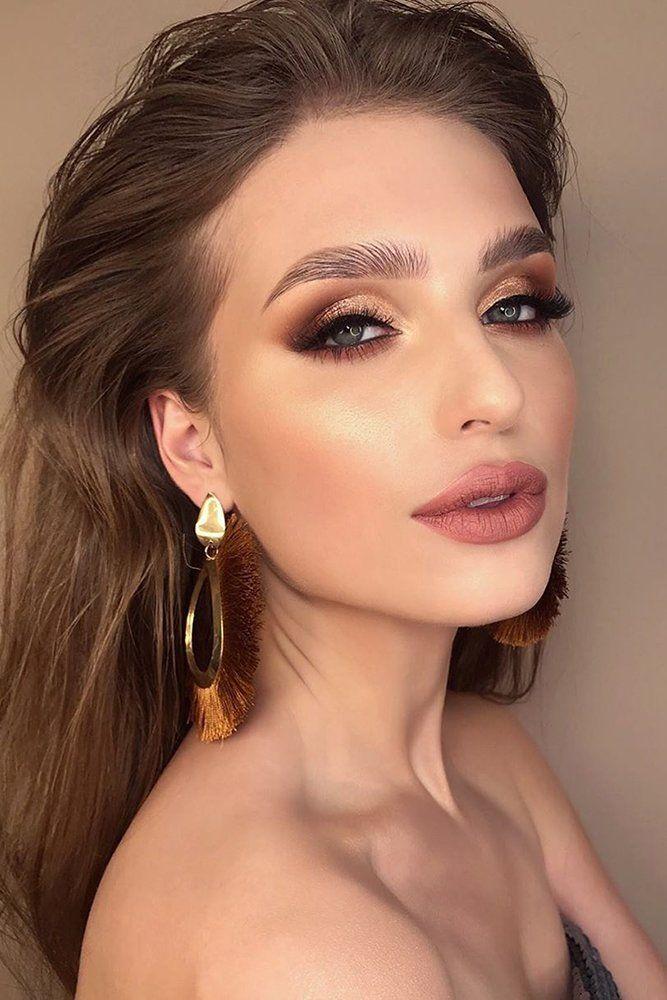 45 Wedding Make Up Ideas For Stylish Brides Wedding Forward In 2020 Bridal Makeup Looks Wedding Day Makeup Soft Wedding Makeup