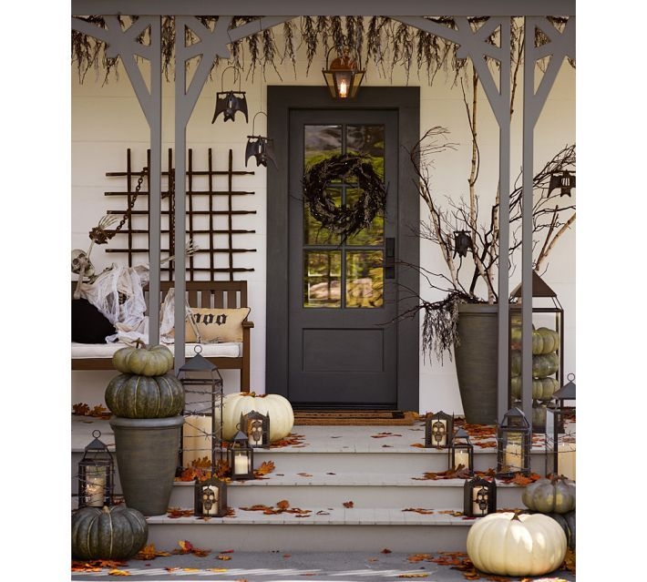 Porch Decor From Pottery Barn Halloween Fall
