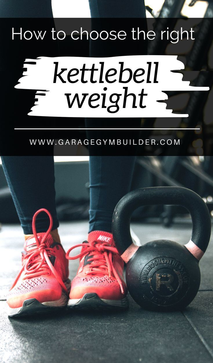 How to choose the right kettlebell weight garage gym builder posts