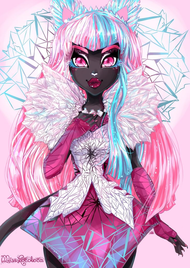 misslocoloca: SO MUCH PINK :D One of my all time Favorite Monster High characters <33 I so Dig the Boo York Boo York style.
