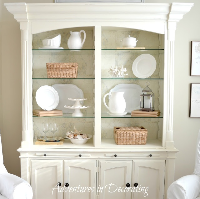 Cabinet Moldings Decorative Accents: 36 Best China Cabinet Decor In And Above Images On