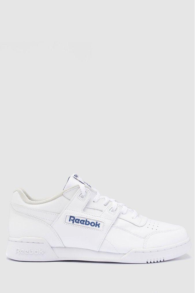 Reebok White Workout Trainers   Reebok