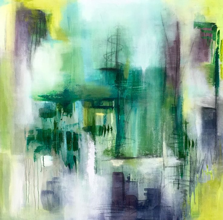 Sue created this lively abstract