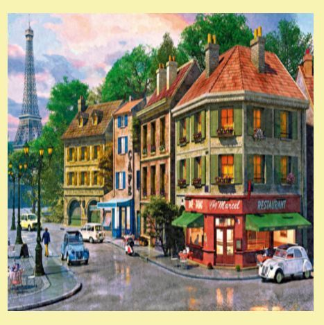 For Everything Genealogy - Paris Streets Location Themed Maxi Wooden Jigsaw Puzzle 250 Pieces, $65.00 (http://www.foreverythinggenealogy.com.au/paris-streets-location-themed-maxi-wooden-jigsaw-puzzle-250-pieces/)