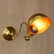 New design ouro antigo clássico lâmpada de parede ajustável com longo braço oscilante para a oficina de cabeceira quarto iluminação arandela(China (Mainland))