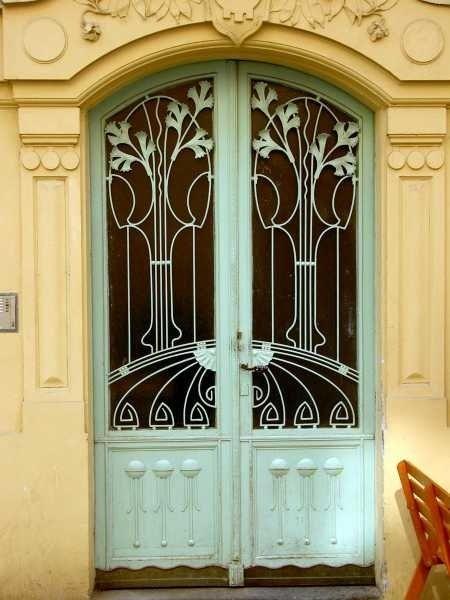 Art Nouveau Door By Viola & Cosmopolitan Doors Blackburn u0026 Washington Life Magazine - March ... pezcame.com