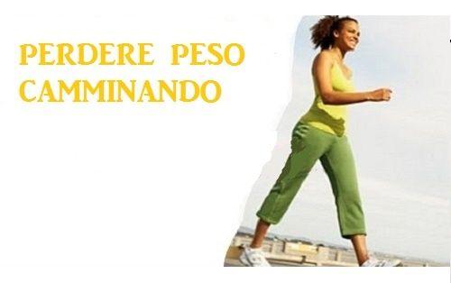 Camminare e perdere peso: ecco come farlo correttamente - Vivere più sani