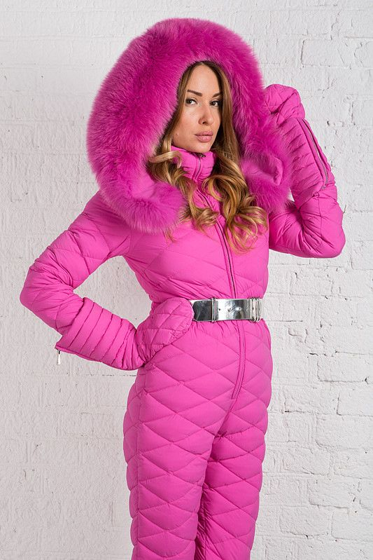 Down Suit Sexy Overall Pinterest Fur Sport Fashion