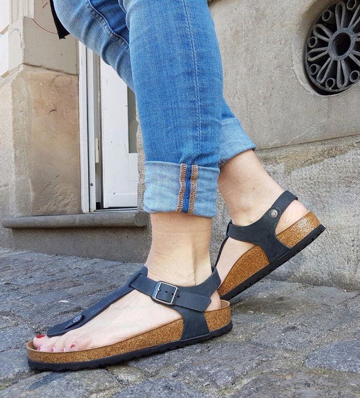 BIRKENSTOCK  SANDALE  KAIRO BS  0147111  BLACK SCHWARZ  ORGINAL ECHTLEDER  DAMEN | Kleidung & Accessoires, Damenschuhe, Sandalen & Badeschuhe | eBay!